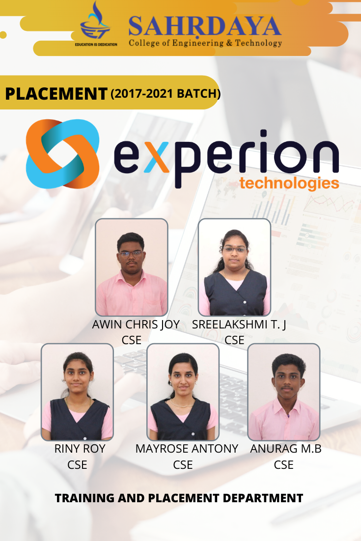 Experion_Placement